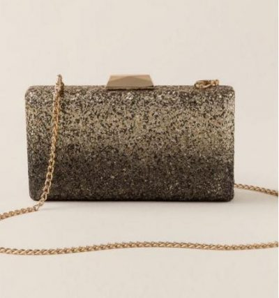 November Wishlist Robin Ombre Glitter Clutch Crossbody
