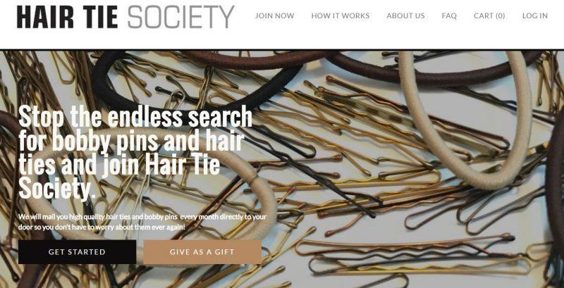 hair tie society website