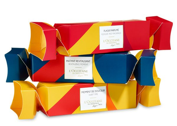 Under $40 stylish gifts including the L'Occitane holiday crackers