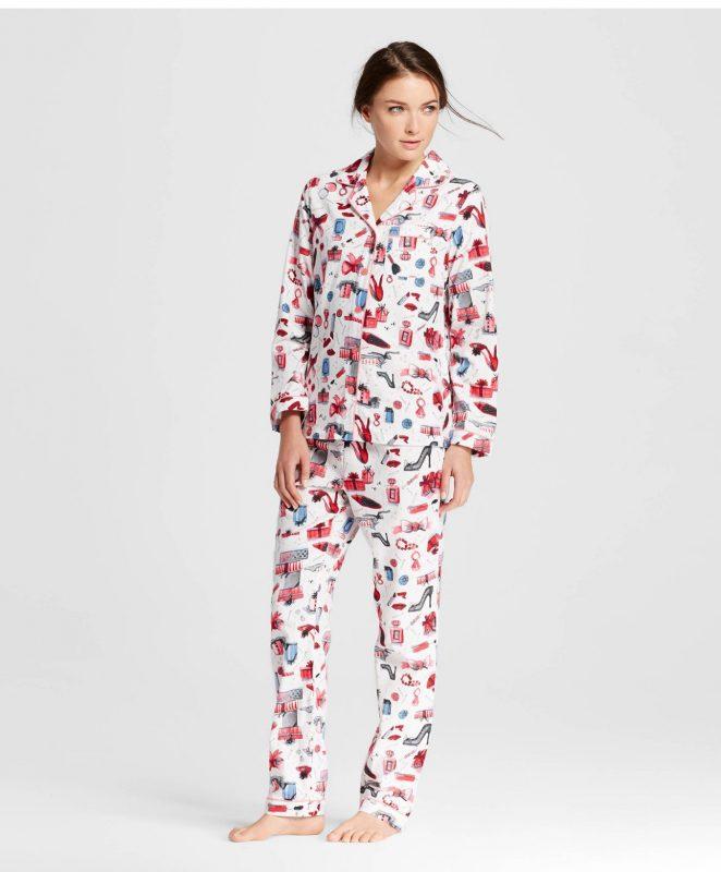 Stylish Sleepwear Gilligan O'malley Flannel Pajama Set