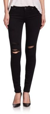 Top 5 on ShopStyle in December Paige Verdugo Transcend Distressed Ultra Skinny Jeans