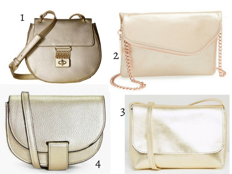 friday favorites gold crossbody bags