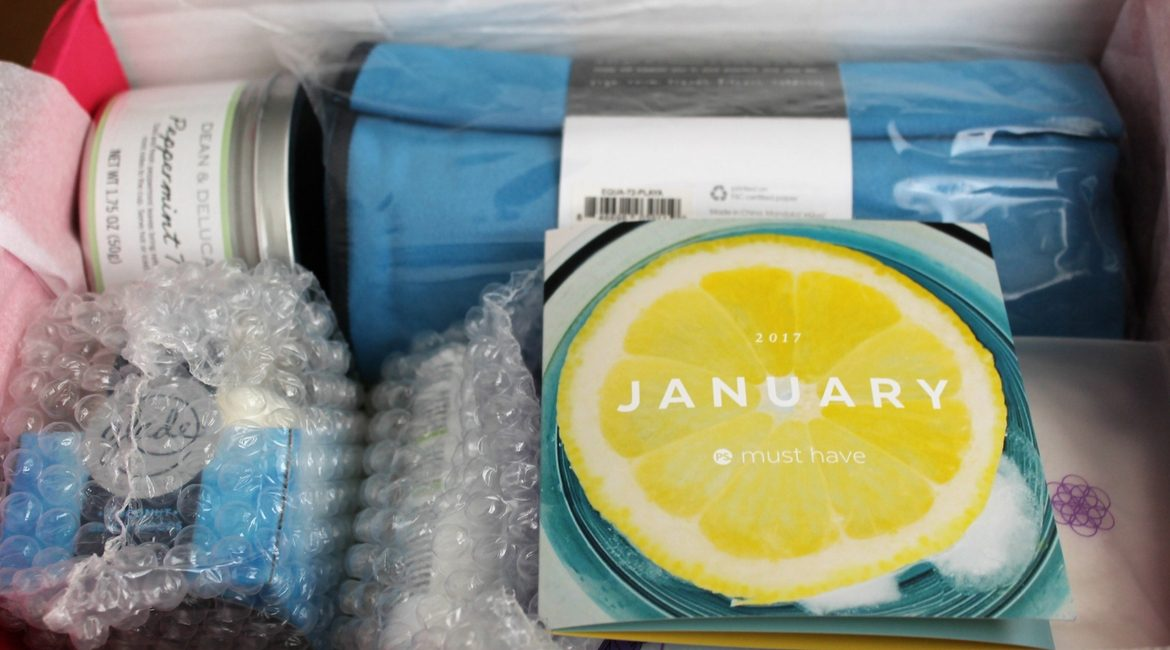 2017 January POPSUGAR Must Have Box Review