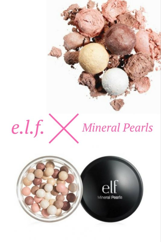 A quick review (including video) of the e.l.f. Mineral Pearls