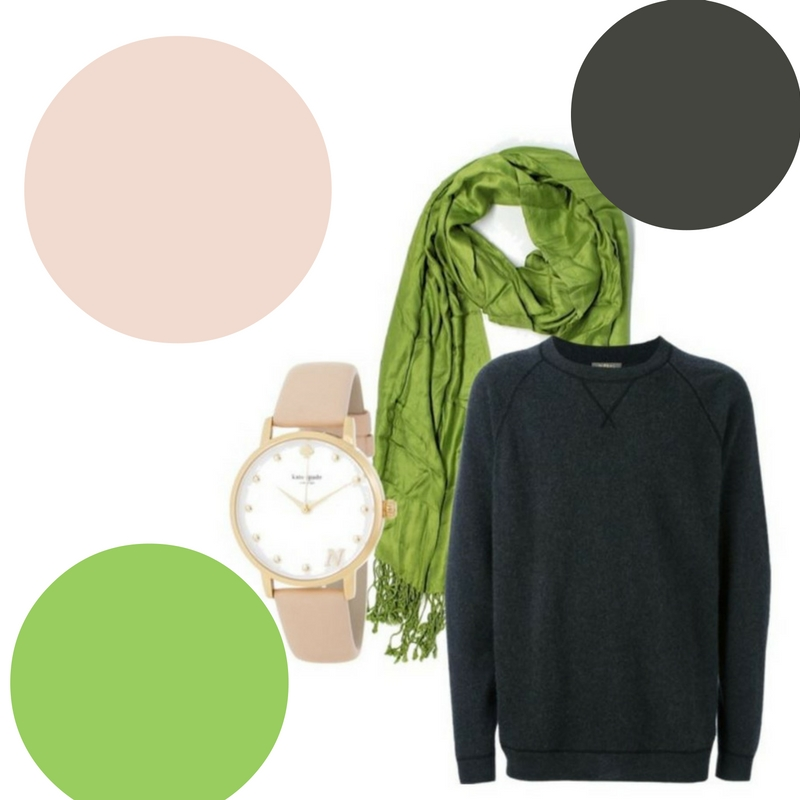 How to Wear Greenery, the 2017 Pantone Color of the Year featuring different color palettes 3 (1)