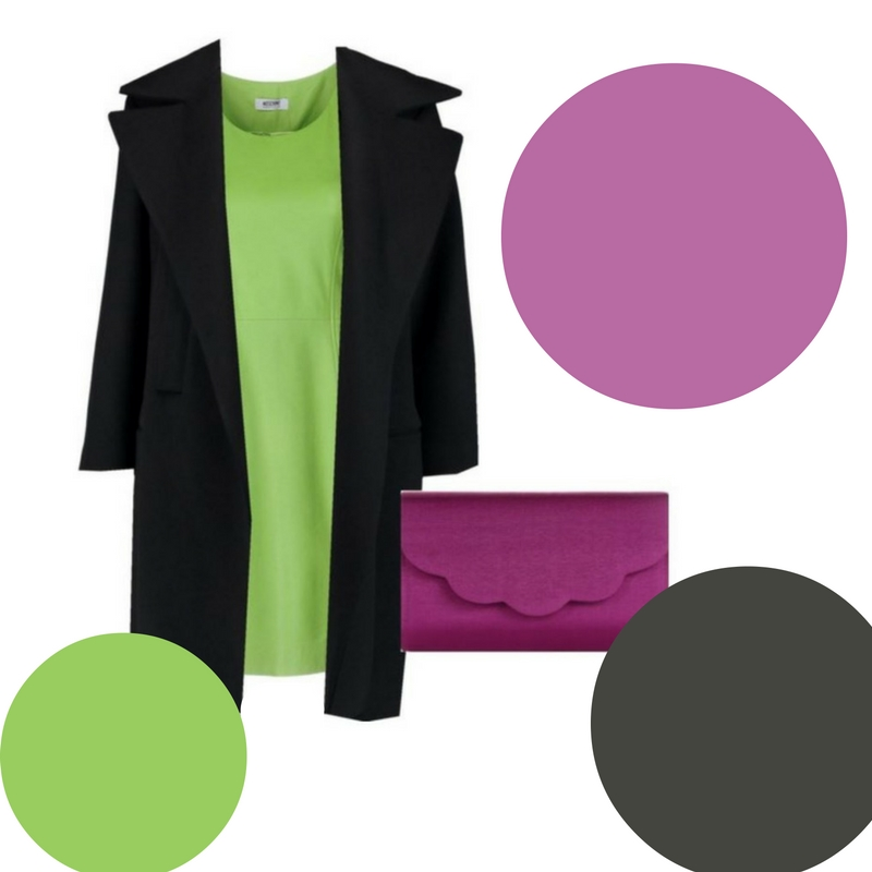 How to Wear Greenery, the 2017 Pantone Color of the Year featuring different color palettes 4