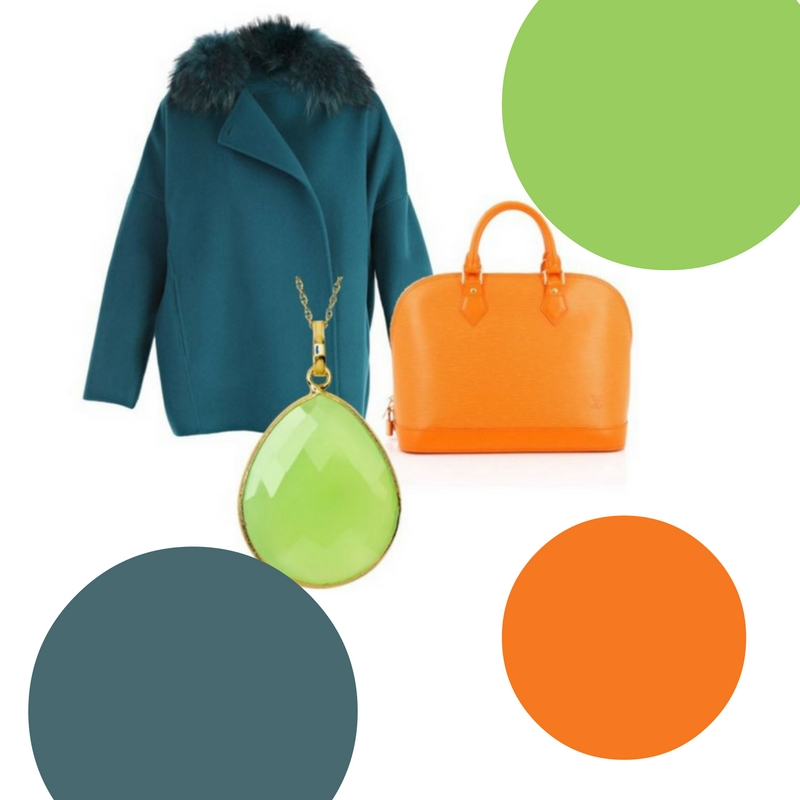 How to Wear Greenery, the 2017 Pantone Color of the Year featuring different color palettes