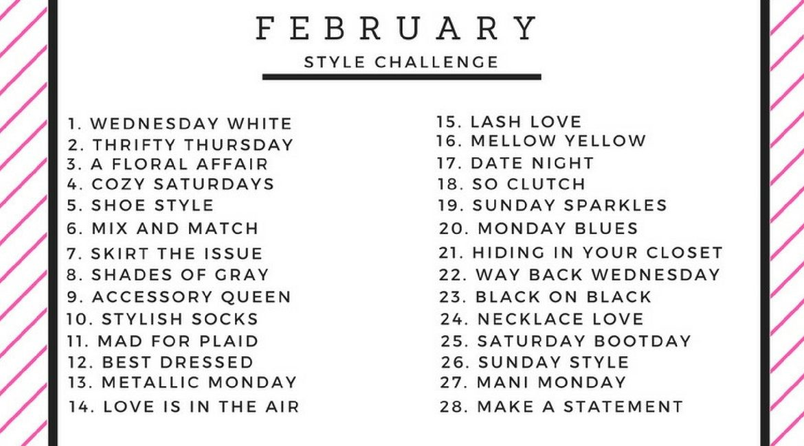 JK Style February Style Challenge cover photo