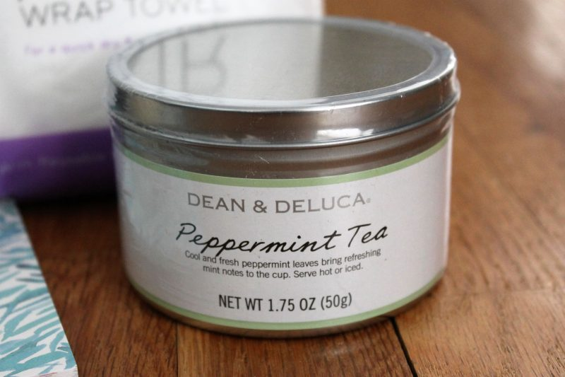 January POPSUGAR Must Have Box Review Dean and Deluca Peppermint Tea
