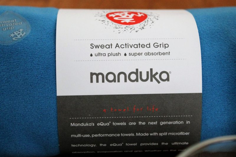 January POPSUGAR Must Have Box Review Manduka eQua Mat Towel in Playa