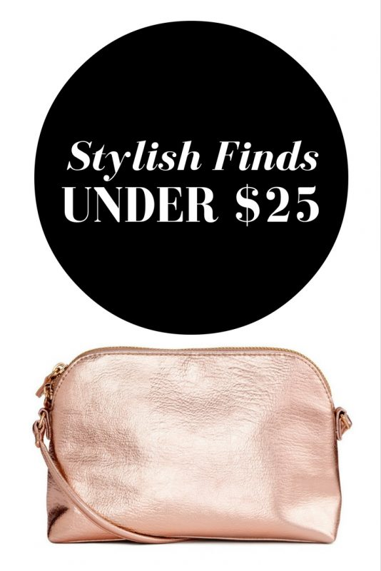 Stylish Finds Under $25