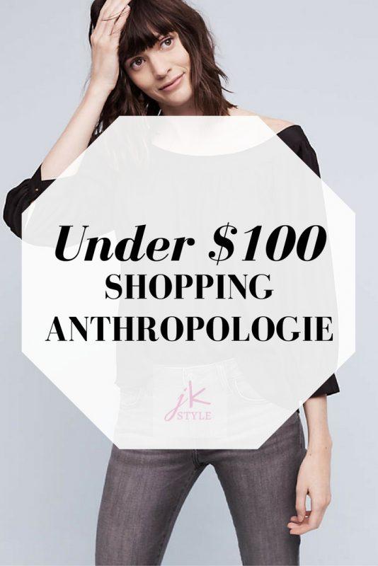 Under $100 SHOPPING ANTHROPOLOGIE