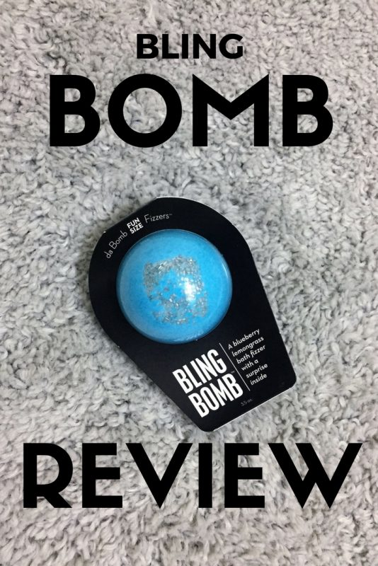 A review of a Bling Bomb bath fizzer on JK Style