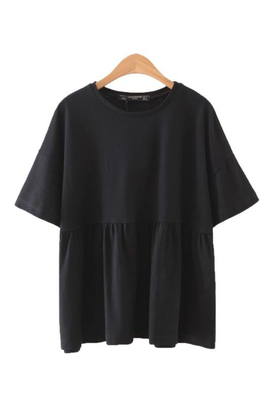 Goodnight Macaroon Favorites Under $50 LouLou Short Sleeved Ruffled Tee