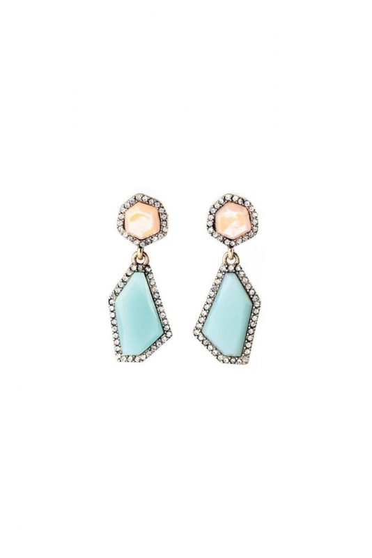 Goodnight Macaroon Favorites Under $50 Moonrock Drop Earrings