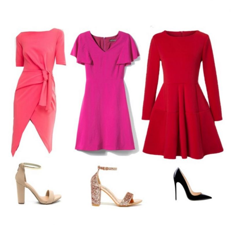 outfits perfect for Valentine's Day dresses
