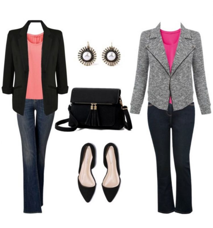 Outfits perfect for Valentine's Day jeans and jacket