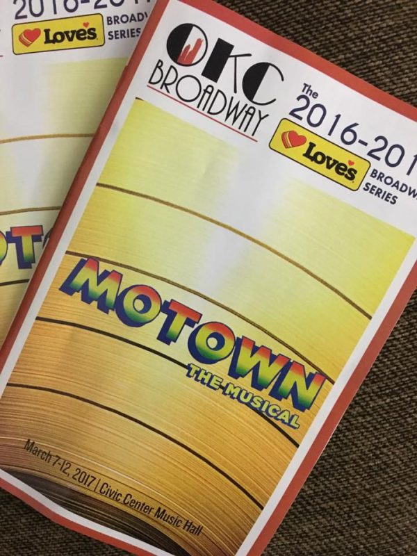 Friday Favorites for March 10 - Seeing Motown at the Civic Center in OKC!