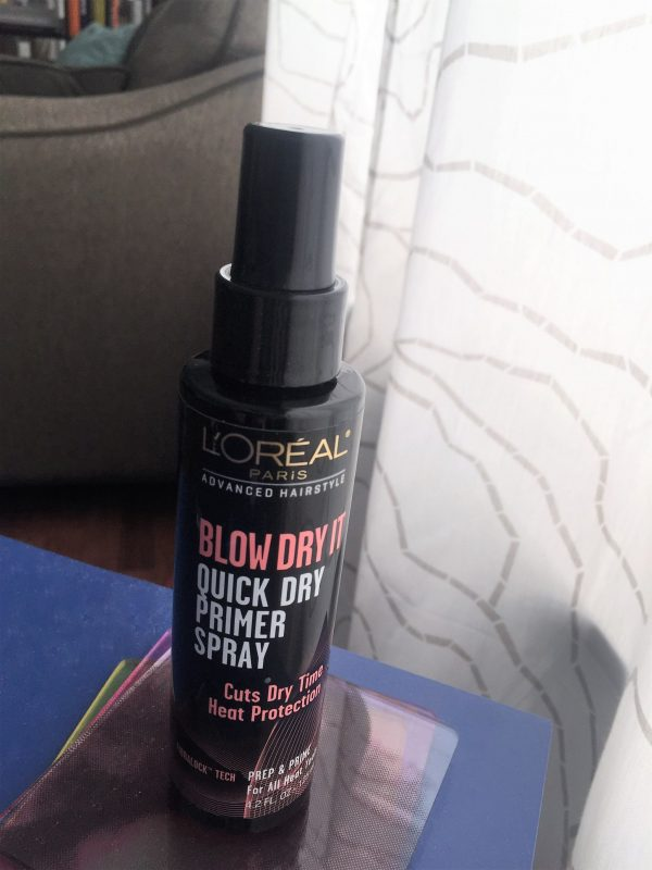 Friday Favorites include this L'Oreal Blow Dryer Quick Dry Primer Spray