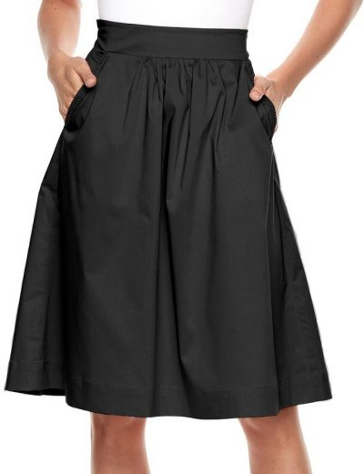 Spring Skirts Under $40 Women's Apt. 9 Poplin Midi Skirt