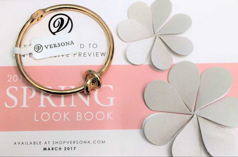 Spring Style at Versona - Knot Bangle - JK Style Giveaway