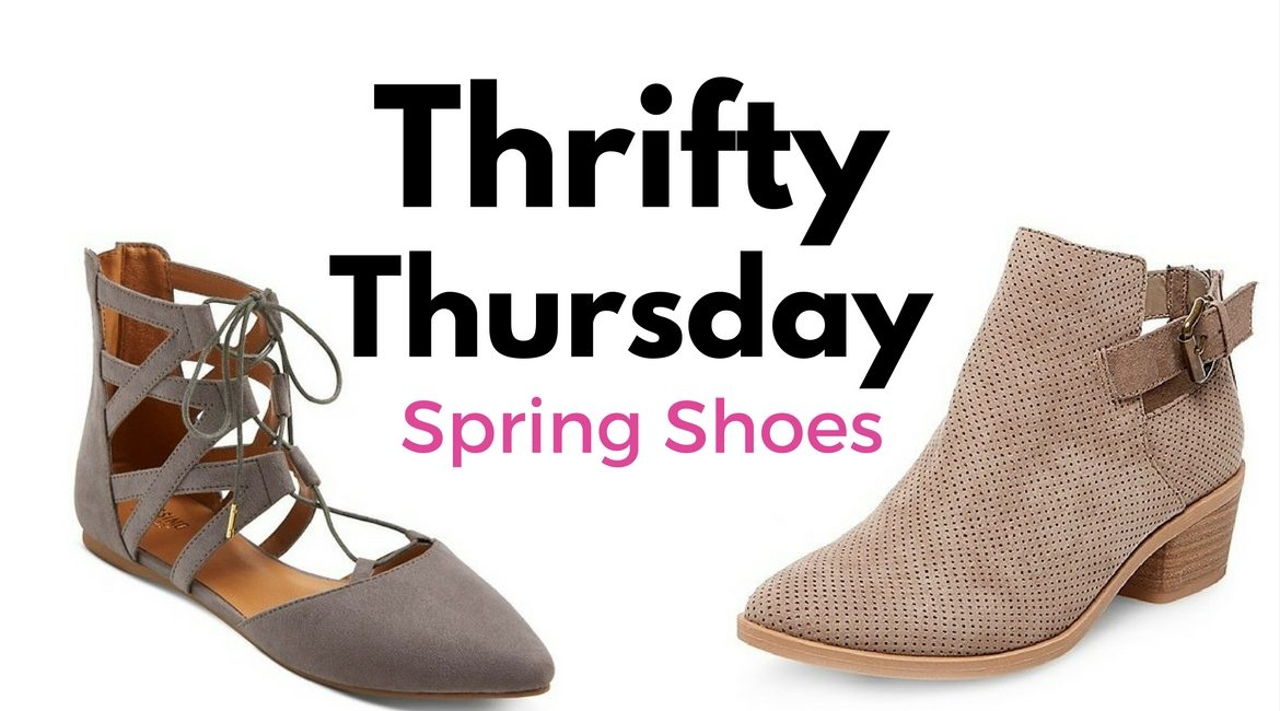 Thrifty Thursday- Spring Shoes Under $75