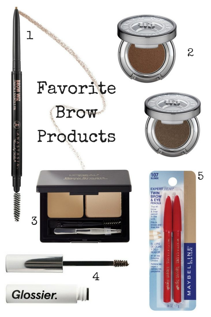 Favorite Brow Products - JK Style