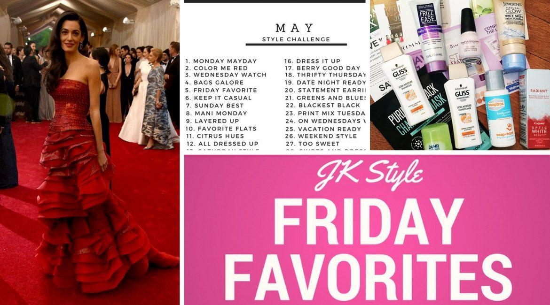 JK Style Friday Favorites April 28