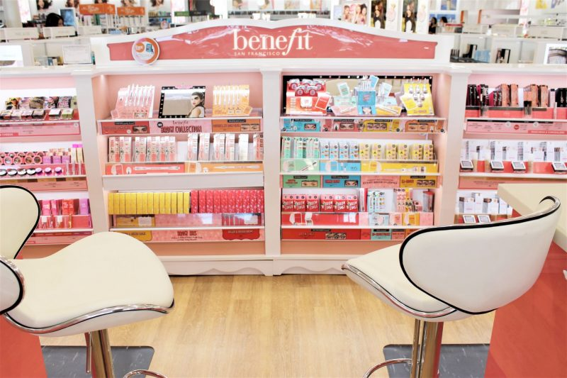Ulta Beauty in Yukon - Benefit Brow Bar - JK Style