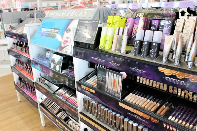 Ulta Beauty in Yukon - Urban Decay display - JK Style