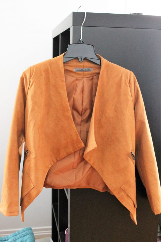 Wear it or toss it - April edition - Shein jacket