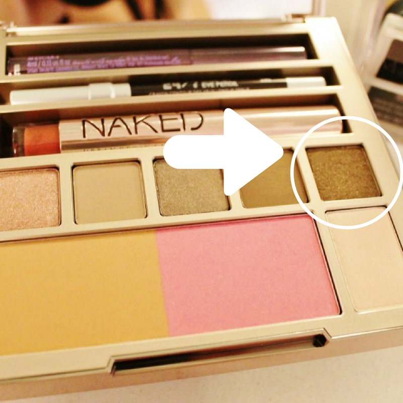 Naked on the Run palette stun eye shadow