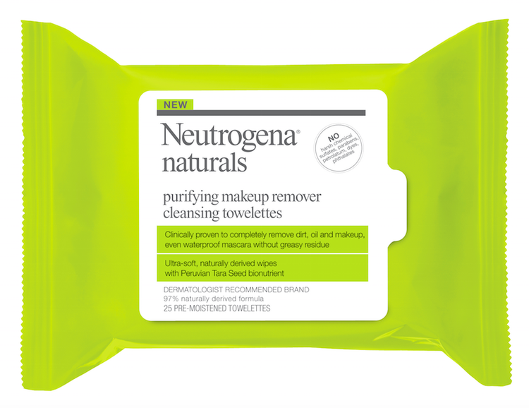 Friday Favorites Neutrogena Naturals Purifying Makeup Remover Cleansing Towelettes