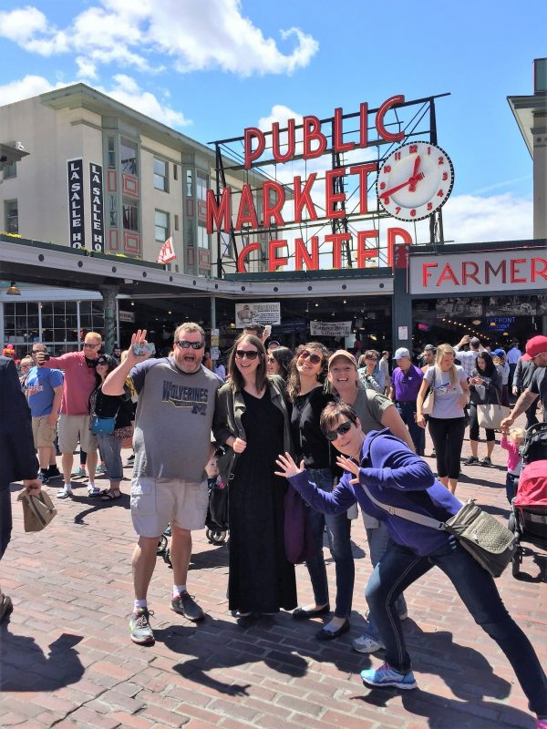 Pacific Northwest trip - Seattle Pike Place Market