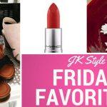 Friday Favorites July 21 2017
