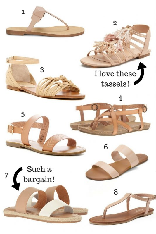 Nude Sandals Under $40 - JK Style