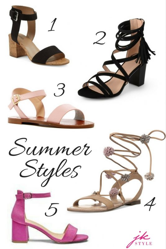 summer shoes under $50 on JK Style