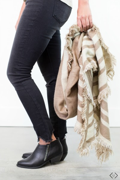 Friday Favorites - Cents of Style boots and scarves - JK Style