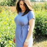 perwinkle maternity dress from PinkBlush- JK Style