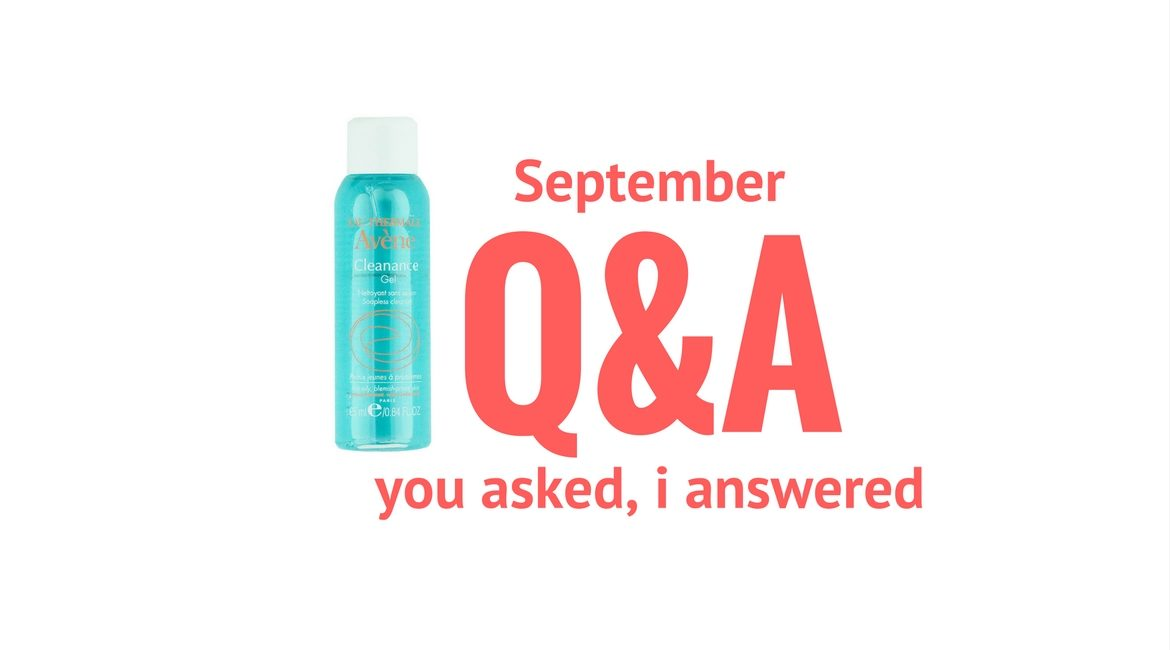 September Q&A on JK Style
