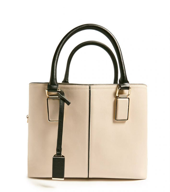 Faux leather satchel - shopping Forever 21 when you're not 21