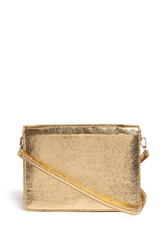 metallic crossbody bag - shopping Forever 21 when you're not 21