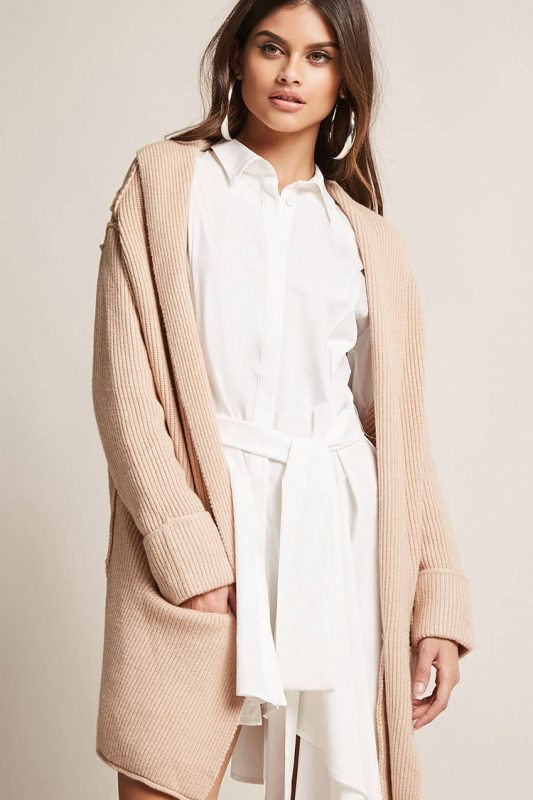 ribbed knit cardigan - shopping Forever 21 when you're not 21 - JK Style