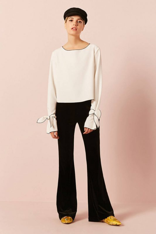 self-tie boxy top - shopping Forever 21 when you're not 21 - JK Style