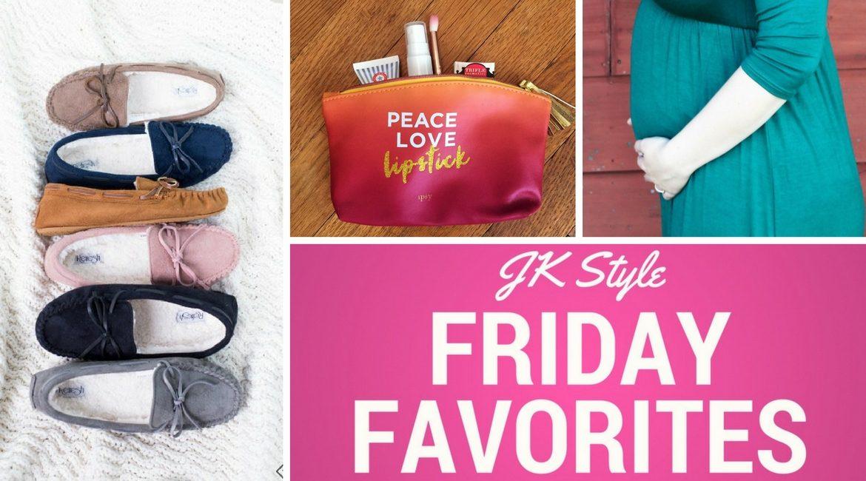 Friday Favorites on JK Style - October 13 2017