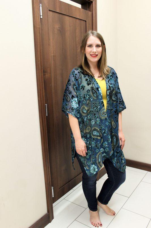 Velvet kimono from Versona - JK Style