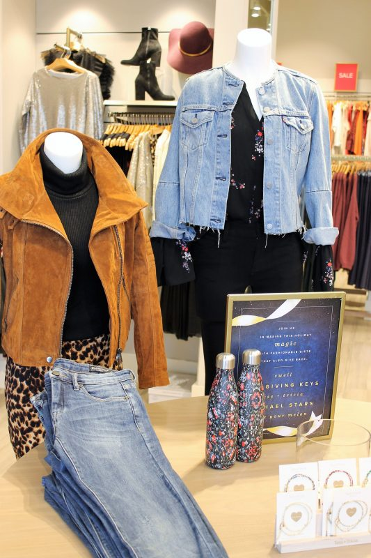 jackets at Evereve in Oklahoma City - Christmas shopping at Classen Curve