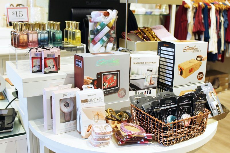Gifts at Francesca's store in Oklahoma City - Christmas shopping at Classen Curve