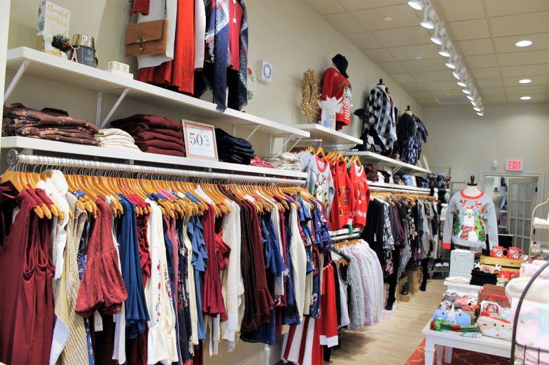 Francesca's in Oklahoma City - Christmas shopping at Classen Curve