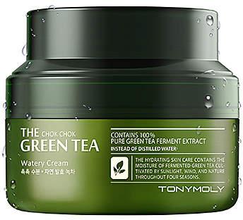Tony Moly The Chok Chok Green Tea Watery Cream - Friday Favorites - JK Style